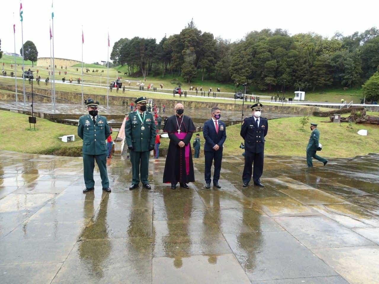 Así fue la conmemoración de los 201 años de la Batalla del puente de Boyacá en medio de la pandemia 4