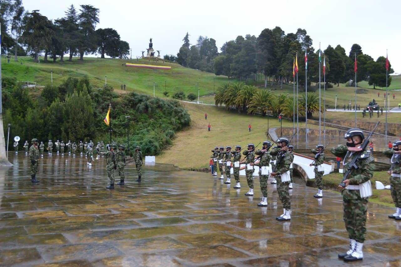 Así fue la conmemoración de los 201 años de la Batalla del puente de Boyacá en medio de la pandemia 5