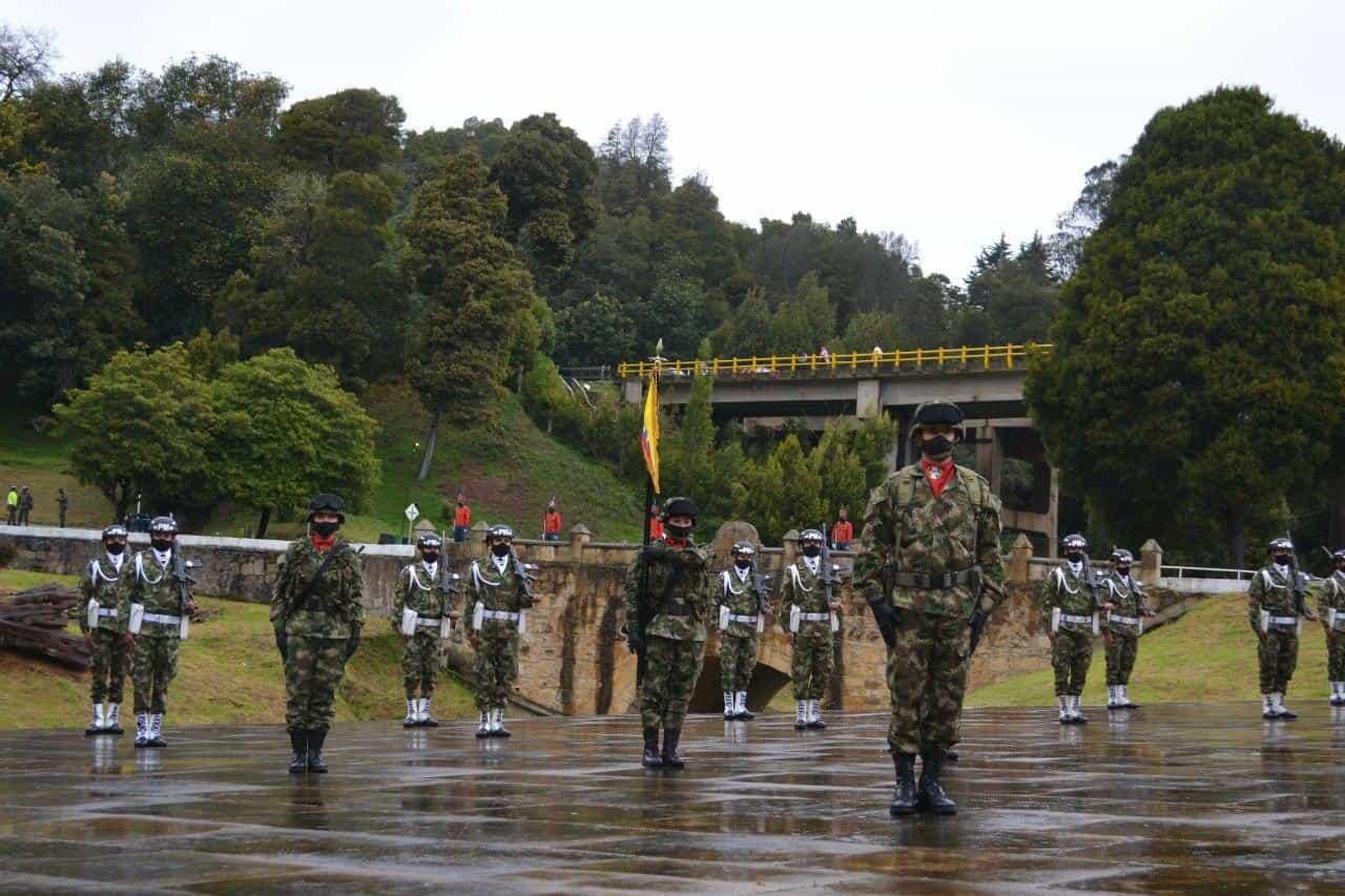 Así fue la conmemoración de los 201 años de la Batalla del puente de Boyacá en medio de la pandemia 6