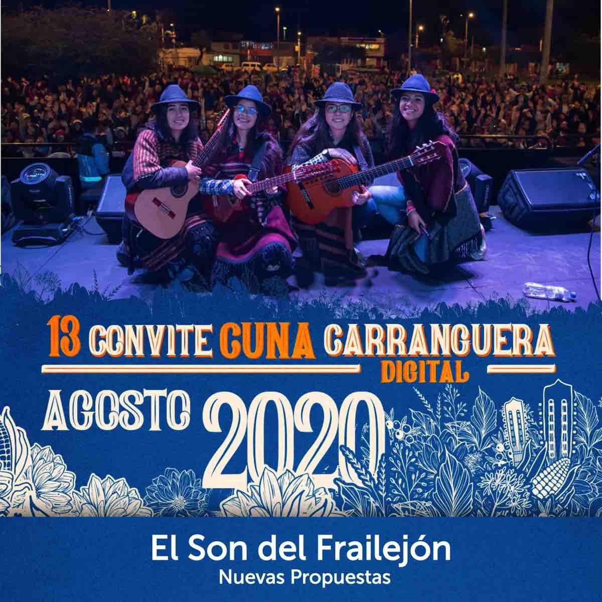 Muy destacada estuvo la participación de las mujeres en el 13 Convite Carranguero Virtual. Fotografía - Archivo particular.