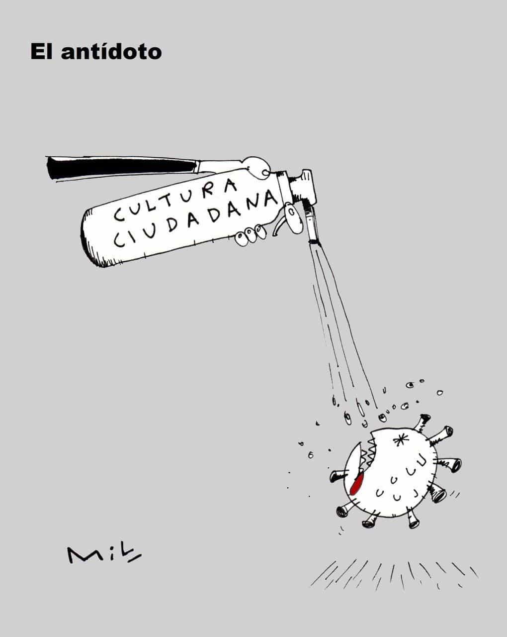 El antidoto - #Caricatura7días