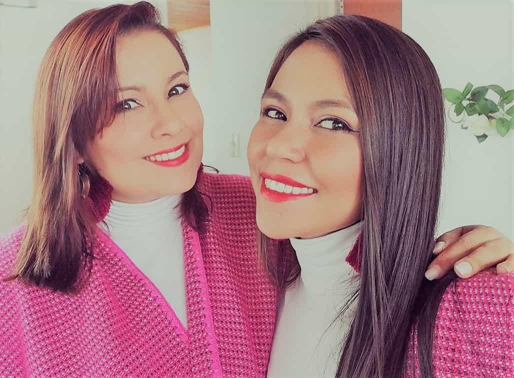 """Belén Osorio Vásquez y Dayane Fagua, primera y segunda voz de """"Margarita - Dueto Vocal"""". Fotografía - Archivo particular"""