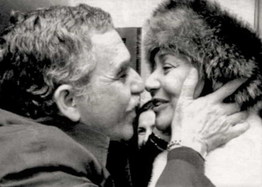La unión de sus corazones había sido anunciada por Gabo - Fotografía Archivo particular