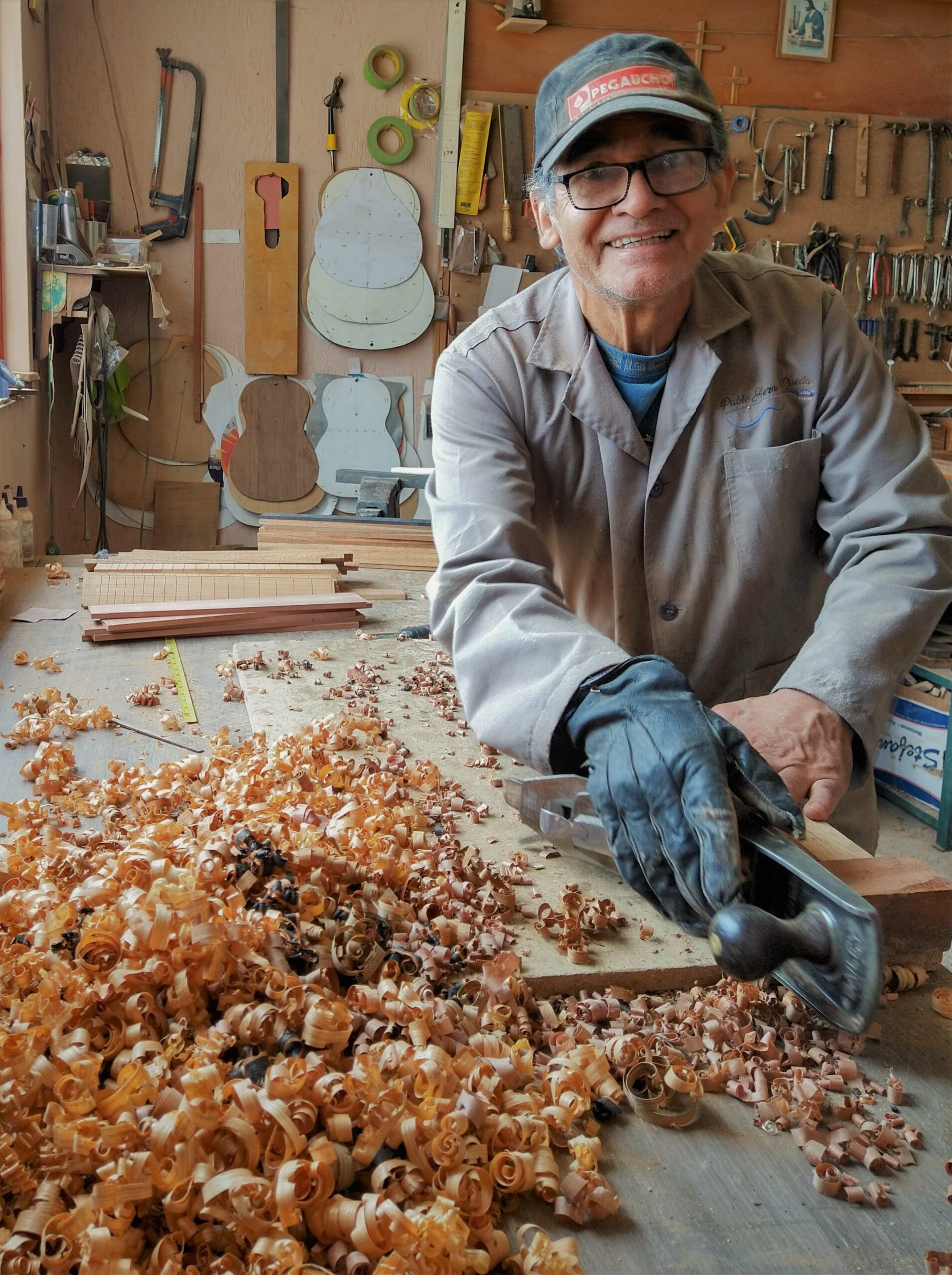En su taller se han fabricado verdaderas piezas de colección. Fotografía. Archivo particular.