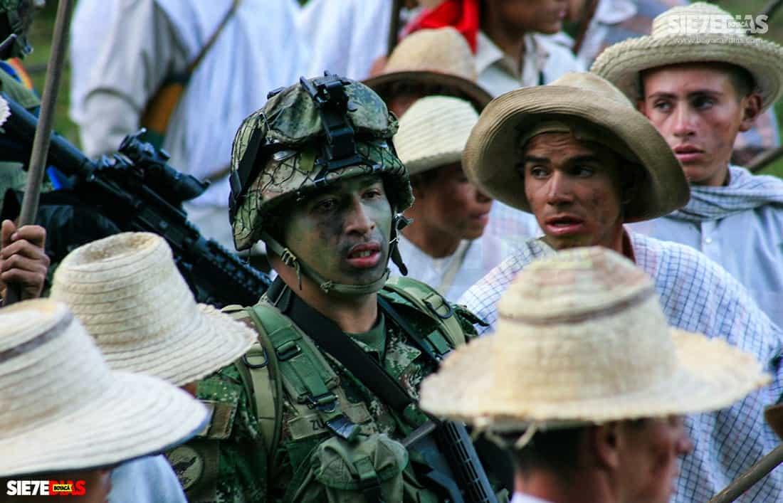 ¿Cuántos años cumple el Ejército el 7 de agosto? 1