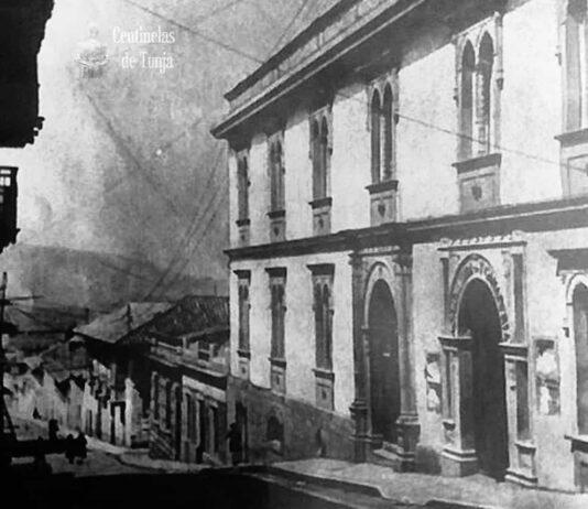 Tunja palacio de la asamble adepartamental años 40s