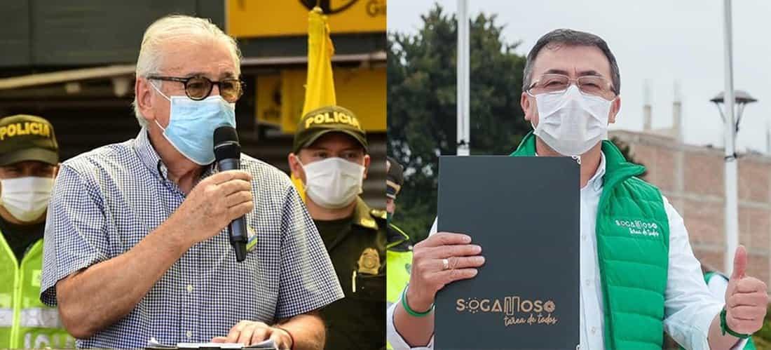 Jairo Tomás Yáñez Rodríguez y Rigoberto Alfonso Pérez. Fotos: archivo particular.