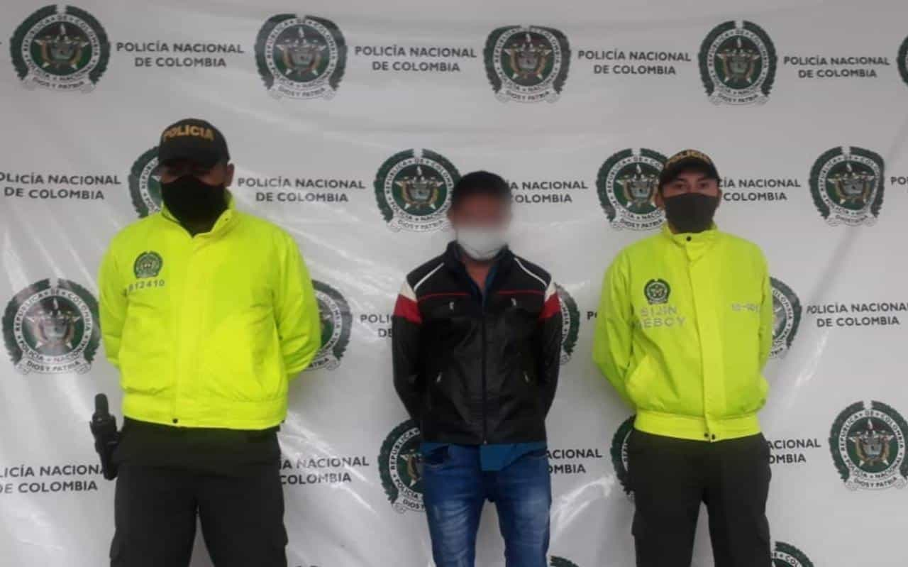 Hombre señalado de ser el asesino del joven Wilder Fabián Monroy, en hechos ocurridos el 18 de abril del 2020 en Ráquira. Foto: archivo particular
