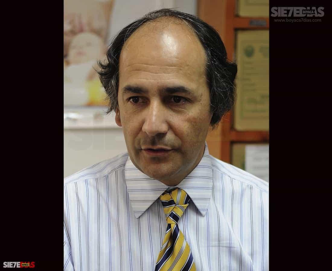 Carlos Alberto Becerra Gómez, secretario de salud de Duitama. Foto: archivo Boyacá Siete Días.