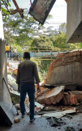 El invierno está haciendo estragos en Moniquirá: ya tumbó un puente e inundó fábricas de bocadillo 7