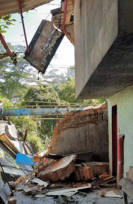 El invierno está haciendo estragos en Moniquirá: ya tumbó un puente e inundó fábricas de bocadillo 8