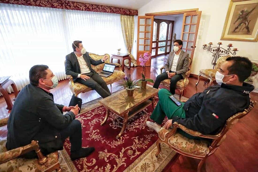 Barragán ha venido adelantando reuniones con diferentes autoridades y trabajar articulados para tomar medidas en favor de los boyacenses.