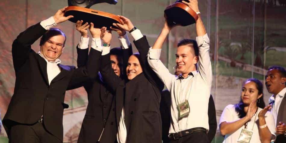 Los ganadores del Mono Núñez 2019 en concierto. Foto: - Archivo particular.