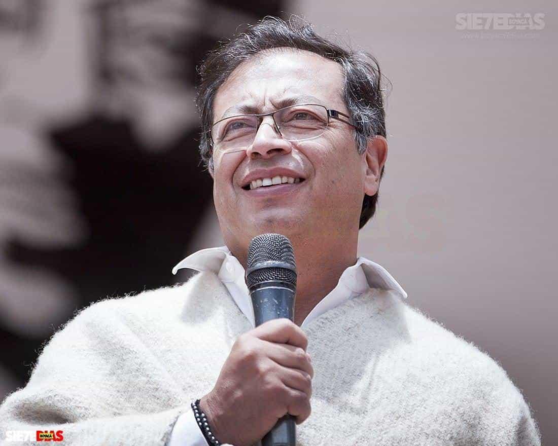 Gustavo Petro, senador de la República al que el Estado tendrá que reparar por su destitución cuando era alcalde de Bogotá. Foto: archivo Boyacá Siete Días.