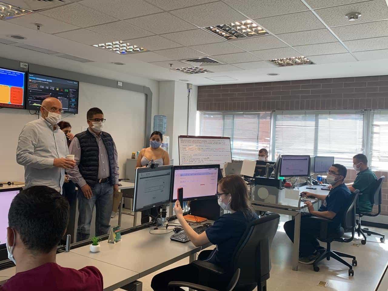 'Hospital Digital' de la Facultad de Medicina de la Universidad de Antioquia. Foto: archivo particular