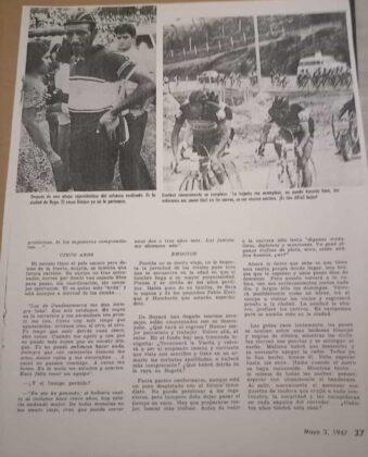Luto en el ciclismo nacional por la muerte del padre de los pedalistas Fabio e Iván Parra Pinto 9