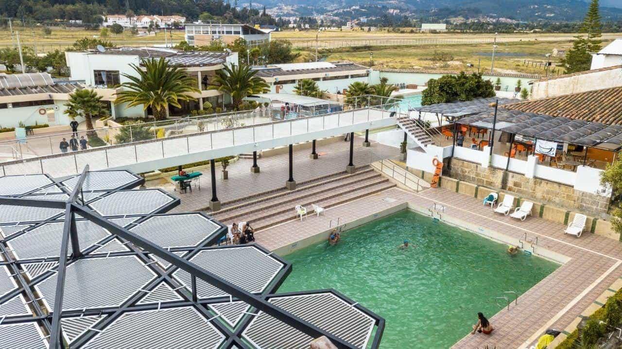 El ITP reactivará en septiembre los servicios del Parque Acuático, el Centro Biomédico y el Spa Termal. Fotos: Prensa Alcaldía de Paipa