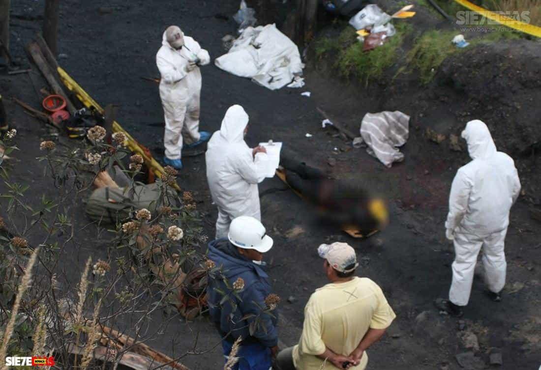 En la mina San Antonio, de Socha, murieron dos trabajadores por deflagración de gas metano. Foto: archivo particular