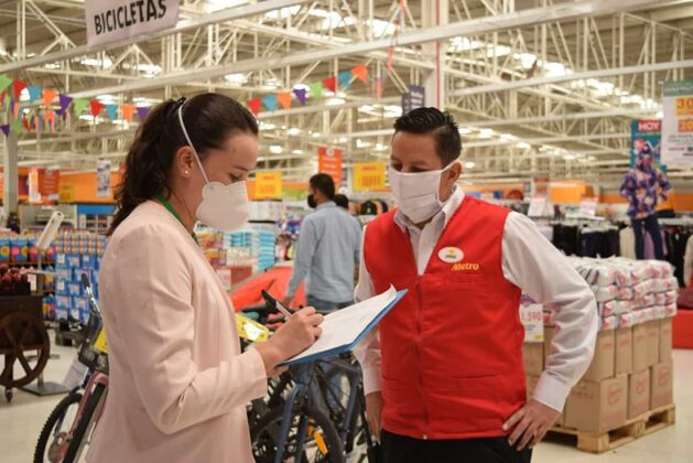 En los almacenes de cadena y centros comerciales el cumplimiento de protocolos se hace más estricto en Sogamoso.