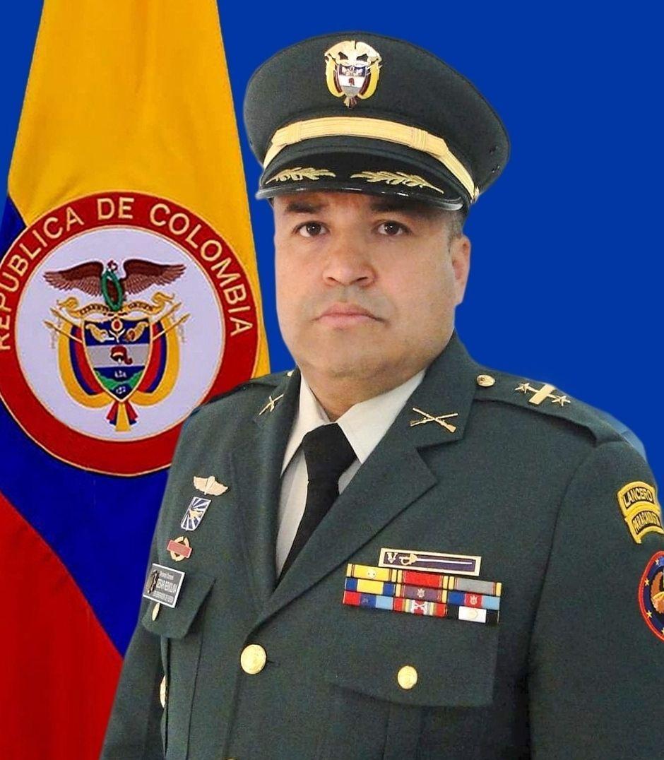 El teniente coronel Julio Cesar Remolina Lizarazo, será desde la próxima semana el nuevo comandante del Batallón Sucre. Foto: Archivo Particular