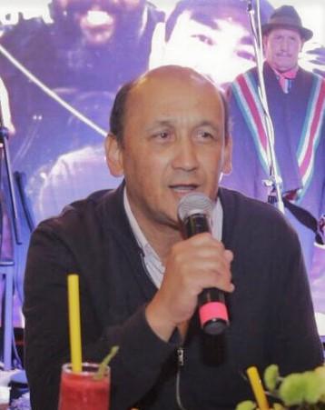 Jorge Pinzón Mateus, Gerente del Fondo Mixto de Cultura de Boyacá. Fotografía- Archivo particular