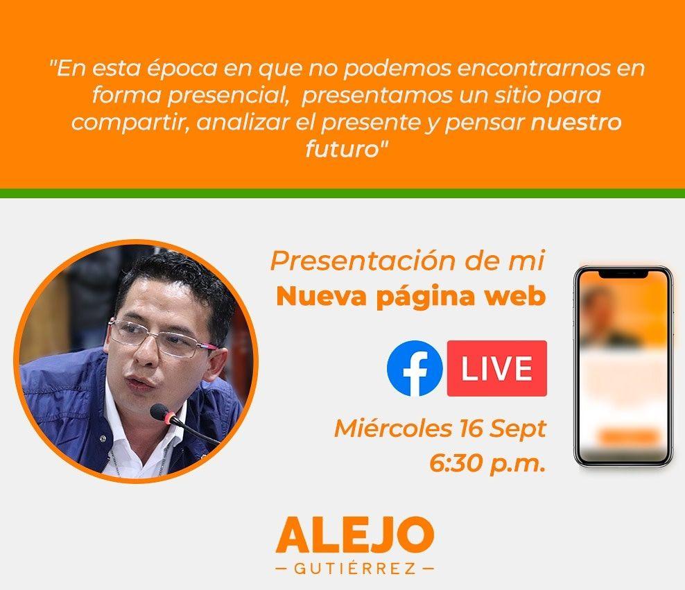 Alejo Gutiérrez está estrenando #Tolditos7días 1