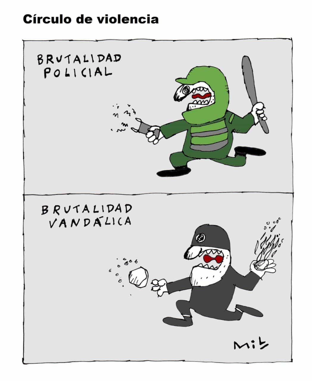 Circulo de Violencia - #Caricatura7días 1