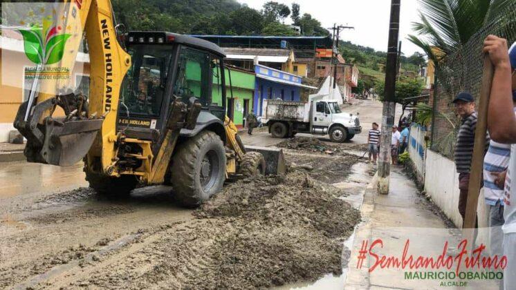 Emergencia en San Pablo de Borbur tras fuerte aguacero que colapsó el acueducto y alcantarillado 2