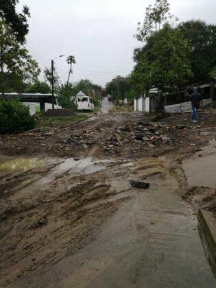 Emergencia en San Pablo de Borbur tras fuerte aguacero que colapsó el acueducto y alcantarillado 11