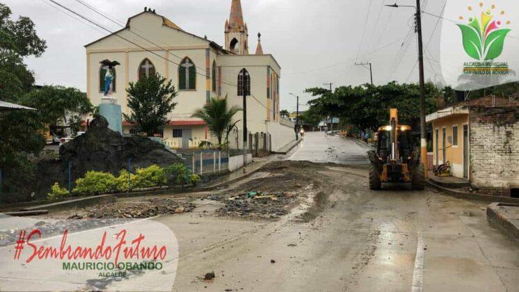 Emergencia en San Pablo de Borbur tras fuerte aguacero que colapsó el acueducto y alcantarillado 8