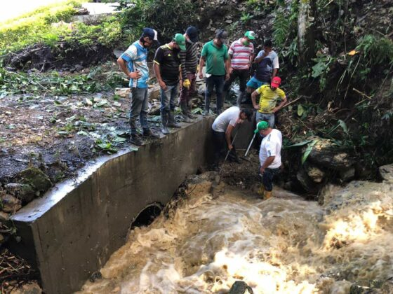 Emergencia en San Pablo de Borbur tras fuerte aguacero que colapsó el acueducto y alcantarillado 10