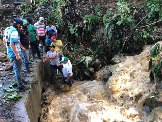 Emergencia en San Pablo de Borbur tras fuerte aguacero que colapsó el acueducto y alcantarillado 1