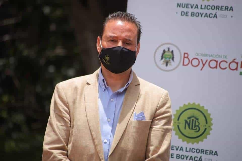 Sergio Armando Tolosa Acevedo lleva 7 meses al frente de la Nueva Licorera de Boyacá y dando resultados.