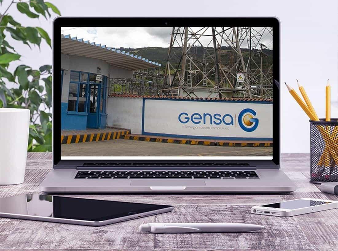 La planta generadora de Gestión Energética S.A (Gensa) es conocida como Termopaipa y está ubicada en jurisdicción del municipio de Paipa.