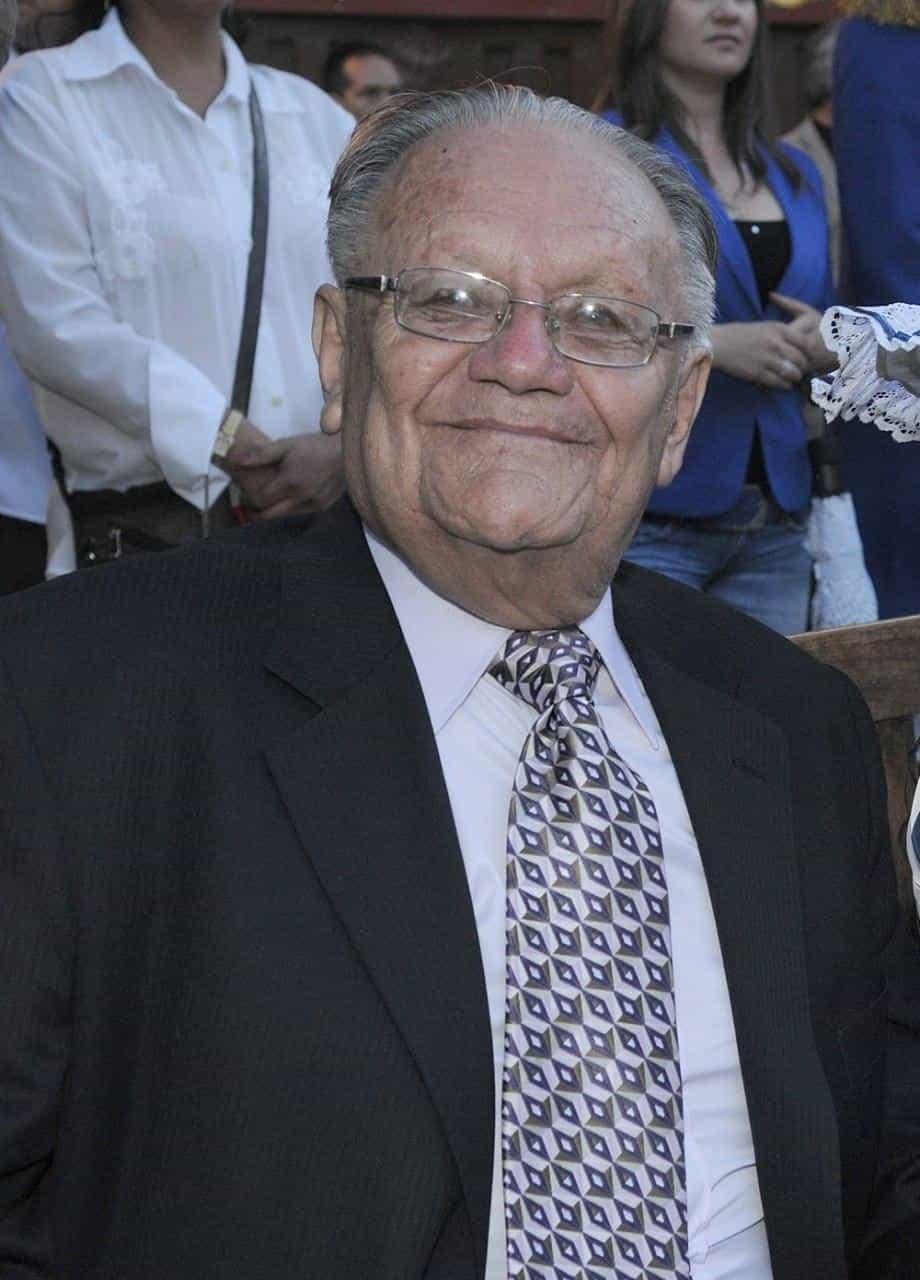 Profesor e historiador Jaime Vargas Izquierdo, exrector del Colegio de Sugamuxi de Sogamoso. Foto: archivo Boyacá Sie7e Días