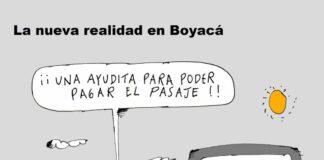 La nueva realidad en Boyacá - Caricatura 7 días
