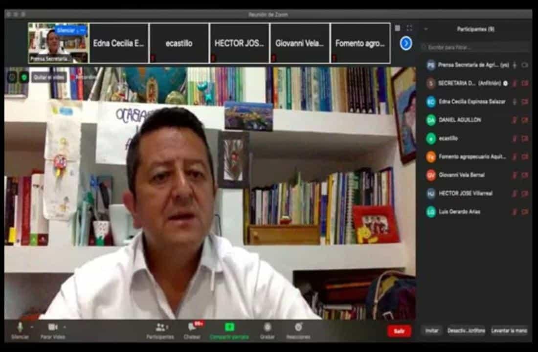 Luis Gerardo Arias, sin mucho escándalo, viene dando resultados desde la Secretaría de Fomento Agropecuario de Boyacá.
