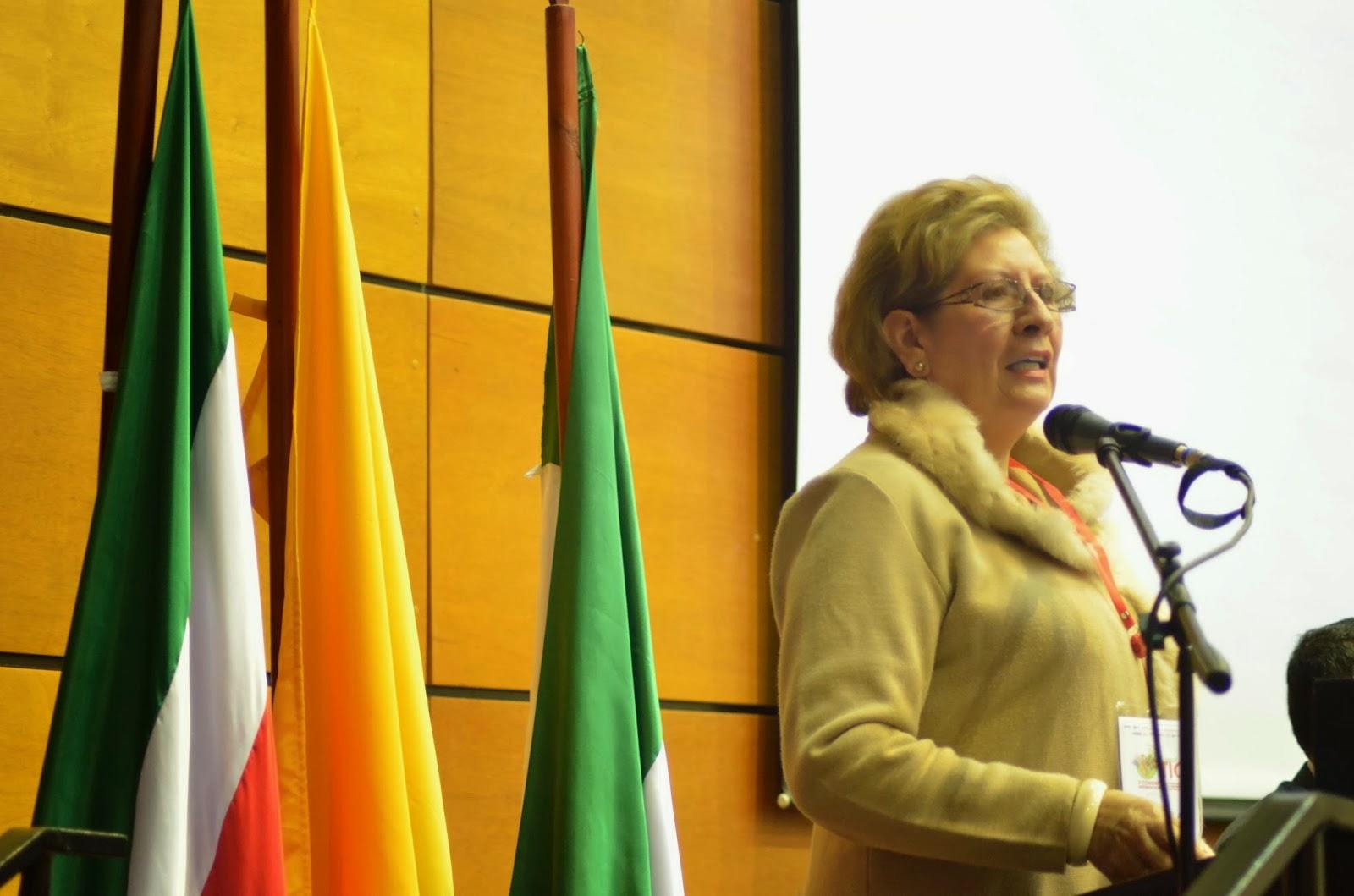 Luz Martha Vargas de Infante, directora de la UNAD Boyacá. Fotografía - Archivo particular.