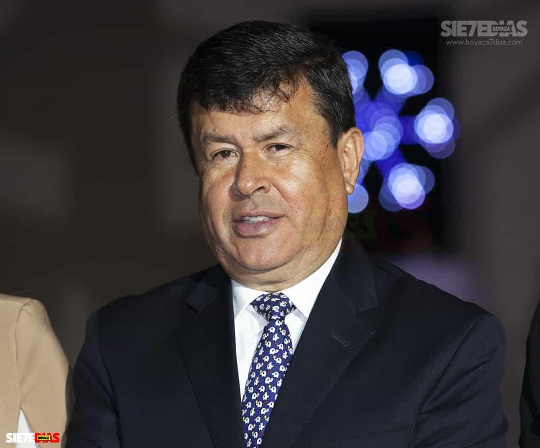 Néstor Barrera, director de Ciencia, Tecnología e Innovación de la Alcaldía de la capital boyacense.
