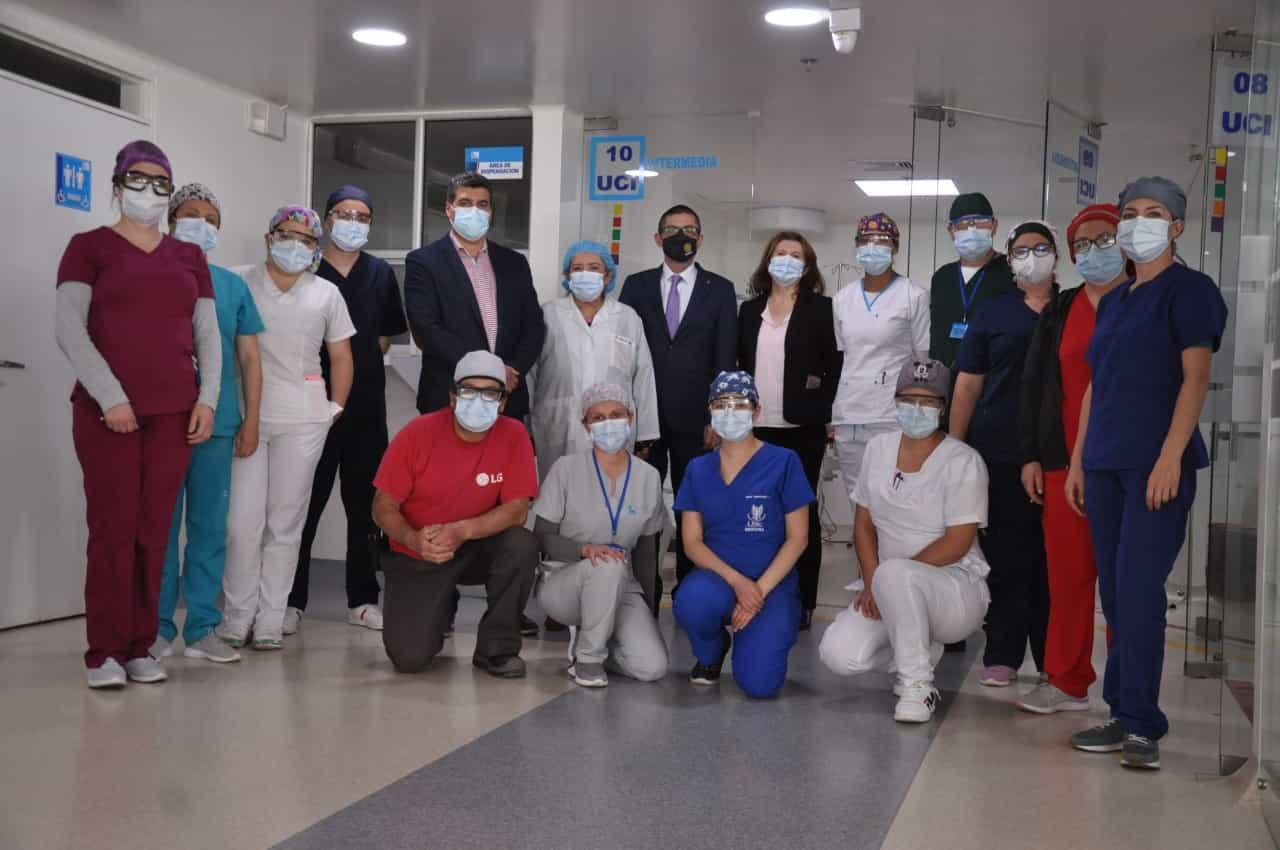 La Clínica El Laguito en Sogamoso estrena desde ayer su unidad de cuidados intensivos 2