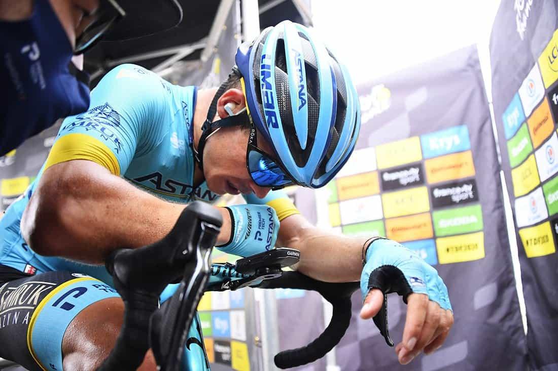 Miguel Ángel López en la etapa 17 del Tour de Francia. Foto: BERNARD PAPON / EFE