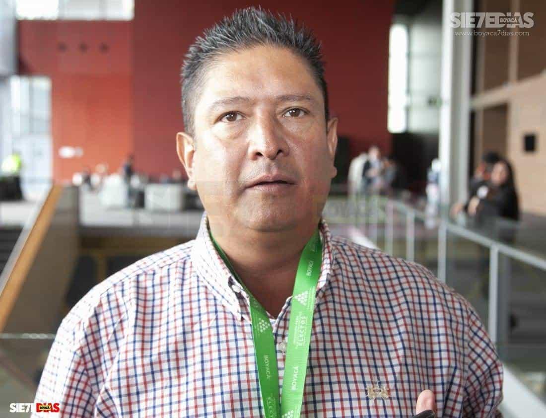 William Eusebio Correa Durán, alcalde del municipio de Socotá, en la provincia de Valderrama. Foto: Luis Lizarazo-Archivo Boyacá Sie7e Días
