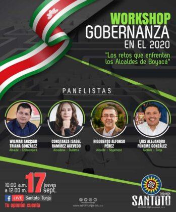 Mañana alcaldes de Boyacá hablarán de lo que viene  Después de la pandemia 1