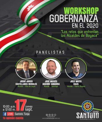 Mañana alcaldes de Boyacá hablarán de lo que viene  Después de la pandemia 2