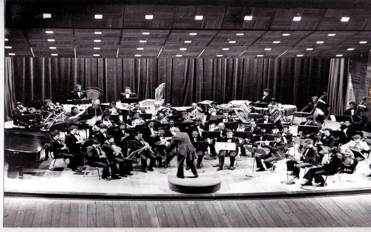 Rinden homenaje a músicos, directores y gestores de la otrora Banda Sinfónica de Vientos de Boyacá 1