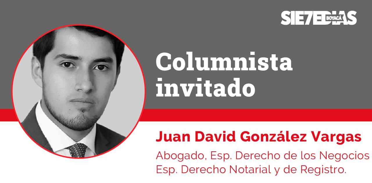 ¿Nos acercamos a la unificación de la realidad física y jurídicade los inmuebles rurales enColombia?- Juan David González Vargas - ColumnistaInvitado 1