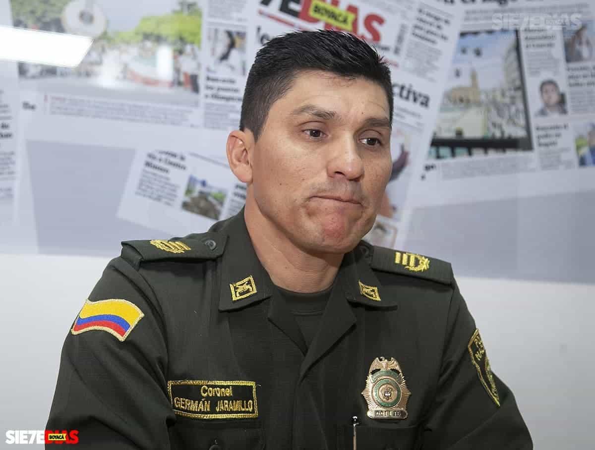 Se va el comandante de la Policía en Boyacá #Tolditos7días 1