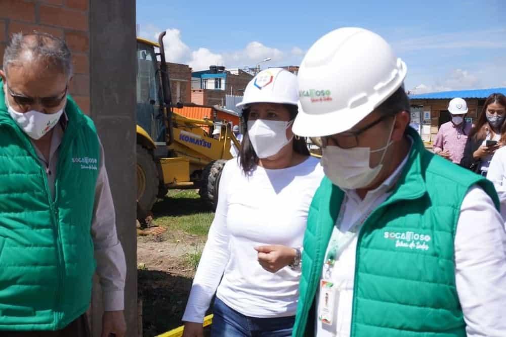 Colegios de Sogamoso que construyen por convenio con el Ministerio de Educación estarían listos en el 2021 2