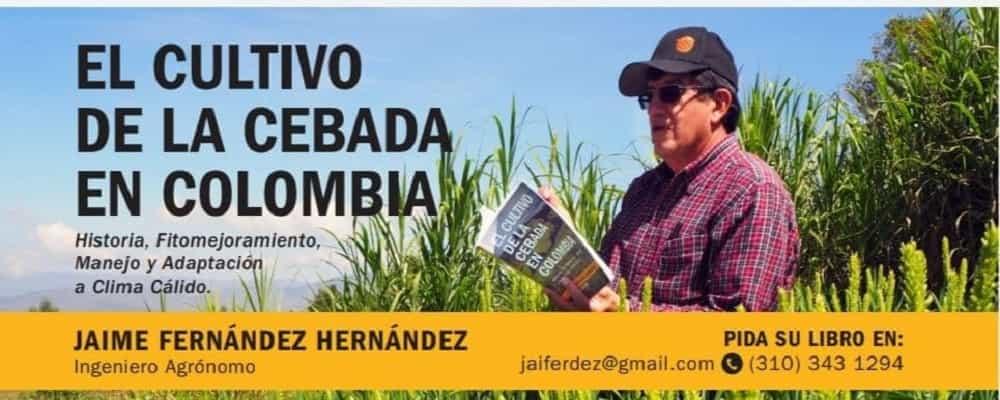 De su cosecha, el ingeniero agrónomo Jaime Fernández cuenta en un libro la historia del cultivo de cebada en el país 1