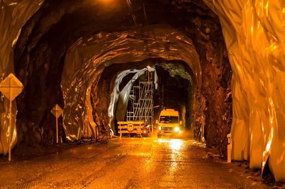 Por obras de iluminación en los túneles se suspenderá el tráfico nocturno por dos meses entre Guateque y Santa María. Foto: Concesión Transversal del Sisga